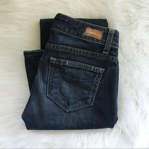 Paige Boot Cut Laurel Canyon Jeans 25